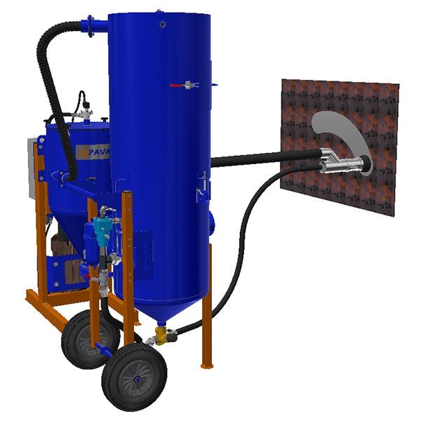 High-performance kit for dust-free blasting - Dustless blasting